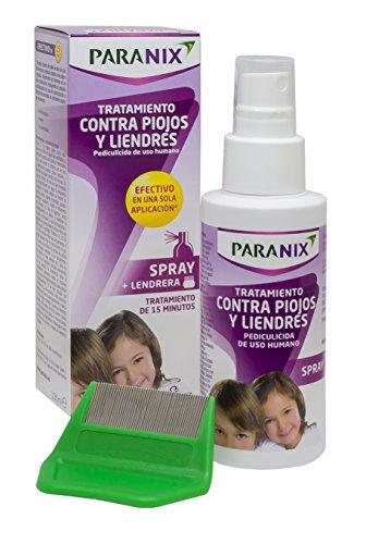 Paranix Spray Tratamiento para Piojos y Liendres - Incluye Lendrera - Sin insecticidas - 100 ml