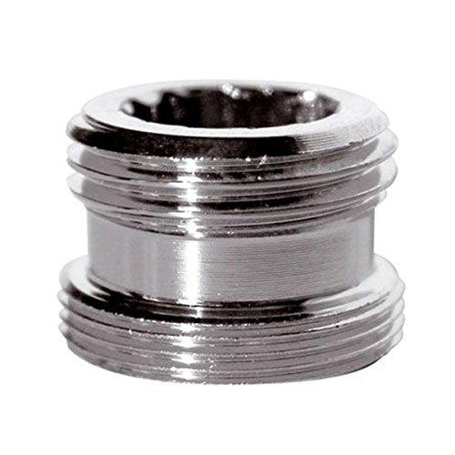 """Reducción adaptador de metal para el grifo de agua de la llave de 22 mm macho a 1/2 """"carpintero macho bsp"""