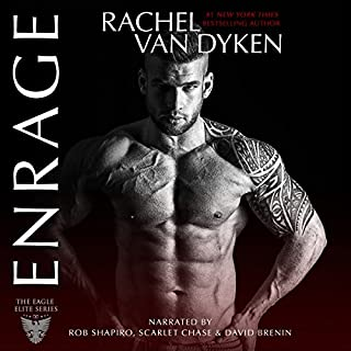 Enrage audiobook cover art