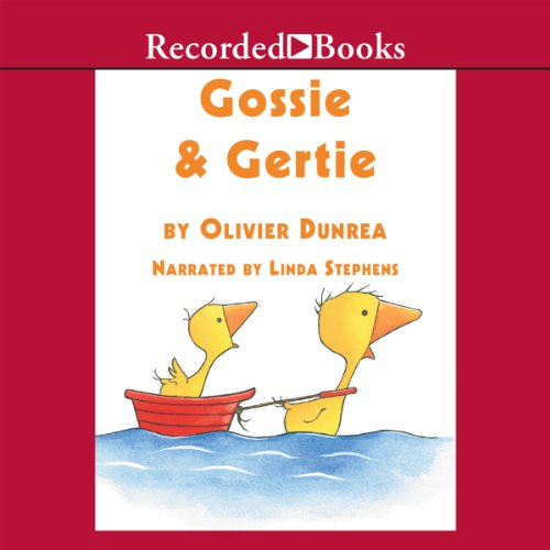 Gossie and Gertie audiobook cover art