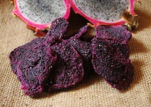 Naturix24 – Drachenfrucht, Drachenfruchtscheiben getrocknet – 250g Beutel