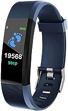 UIEMMY slim horloge Bluetooth Smart Watches Hartslagmeter Fitness Tracker Armband Waterdichte slimme polsband
