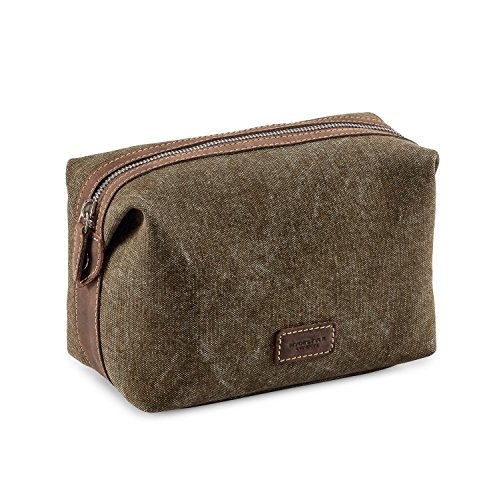 HYDESTYLE Beauty Case, Khaki Green (Marrone) - MB2023