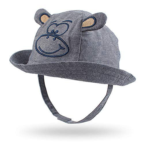 Cartoon Monkey Baby Hat Classic Tod…