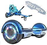 FUNDOT Fondo Hoverboards con Sedile,Scooter con hoverkart,Go Kart 6,5 Pollici,Hoverboards con...