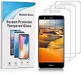 Weinstock-Science   3X bruchsicheres Schutzglas für Huawei Ascend P10 Lite  Schutzfolie aus 9H Echt Glas