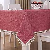 sans_marque Mantel de mesa, cubierta de mantel lavable, utilizado para comedor de cocina, decoración de mesa de cocina 100* 140CM