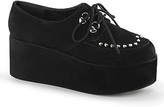 Demonia Women's Grip-03 Platform Shoes