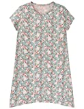 Schiesser Mädchen Nachthemd Sleepshirt 1/2, Grün (Mint 708), 140 (Herstellergröße XS)