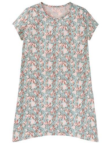 Schiesser Mädchen Nachthemd Sleepshirt 1/2, Grün (Mint 708), 152 (Herstellergröße S)