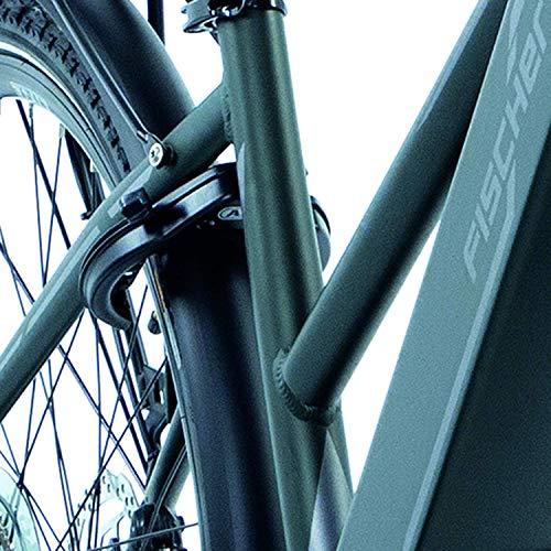 FISCHER Damen – E-Bike Trekking VIATOR 4.0i (2020), grün matt, 28 Zoll, RH 44 cm, Mittelmotor 50 Nm, 48 Volt Akku im Rahmen Bild 2*