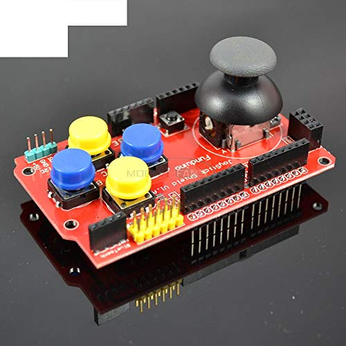 Gamepads Joystick Keypad Shield DIY Electronic for Arduino nRF24L01 Nk 5110 LCD I2C 3.3V Controller Board Module