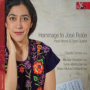 Hommage to José Rolón