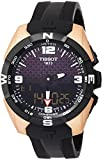 Tissot T-Touch Black Dial Silicone Strap Men's Watch T0914204720700