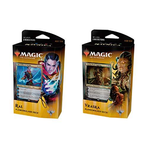 Magic The Gathering MTG-GRN-PD-EN Guilds of Ravnica Planeswalker Deck ar al azar, Multi , color/modelo surtido