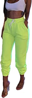 S-Fly Women Drawstring Fitness Workout Outdoor Solid Color Jogger Pants