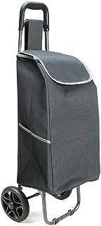 LQBDJPYS Supermarket Aluminum Alloy Six-Wheel Climbing Shopping Cart Folding Portable Luggage Trolley Trolley Trolley Trol...