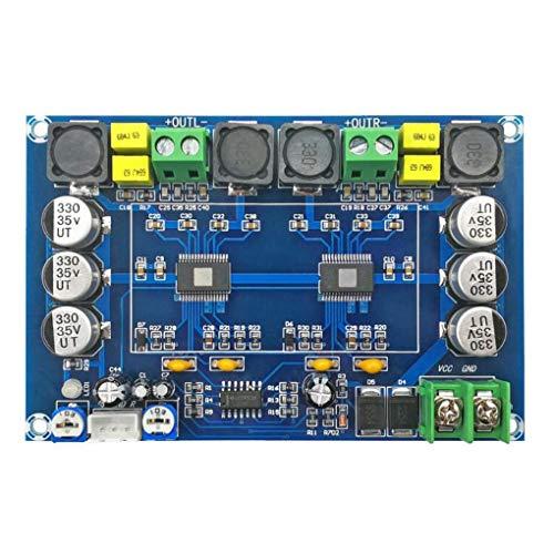 Qimao 150W Dual-Channel-Stereo Verstärker-Brett Zweigleisige Hochleistungs-Digital-Audio-Leistungsverstärker-Modul