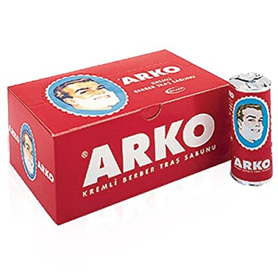 x6 PIECES ARKO SHAVING CREAM SOAP STICK 75 GRAMS ***FREE UK DELIVERY*** from Arko