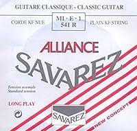 SAVAREZ ALLIANCE スタンダードテンション MI・E・1 541R クラシックギター弦(バラ) 1弦 E弦 1本 【国内正規品】