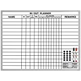 in and out board - Magna Visual In/Out Planner, 18