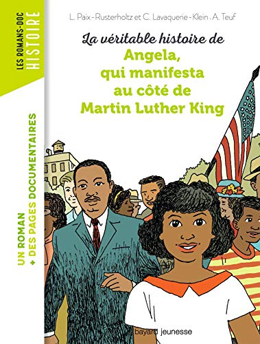 Den sanne historien om Angela, som demonstrerte sammen med Martin Luther King