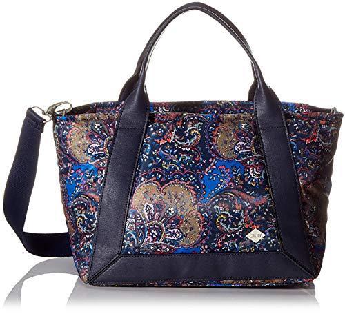 Oilily Damen Mirador Handbag Lhz Henkeltasche, Blau (nightblue), 18x24x44 cm