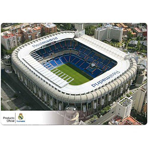 empireposter Real Madrid–Estadio–Vade de sobremesa (35x 50cm Aprox, se Puede Limpiar con Agua–Licencia, Mesa Base, Vade