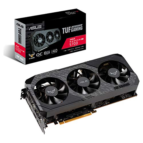Asus TUF Gaming X3 AMD Radeon Rx 5700 Overclocked 8G GDDR6 HDMI DisplayPort Gaming Graphics Card (TUF 3-RX5700-O8G-GAMING)