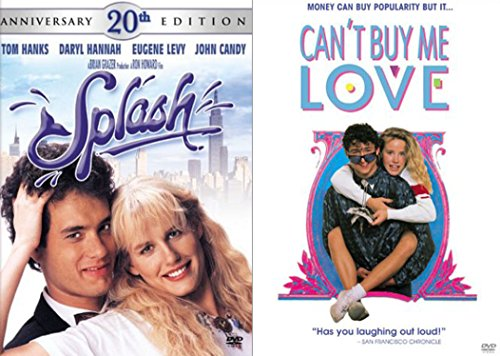 Romantic Comedy Bundle - Splash (Tom Hanks) & Can't Buy Me Love 2-Movie DVD Collection