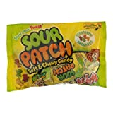 Sour Patch Soft & Chewy Candy Treat Size Packages