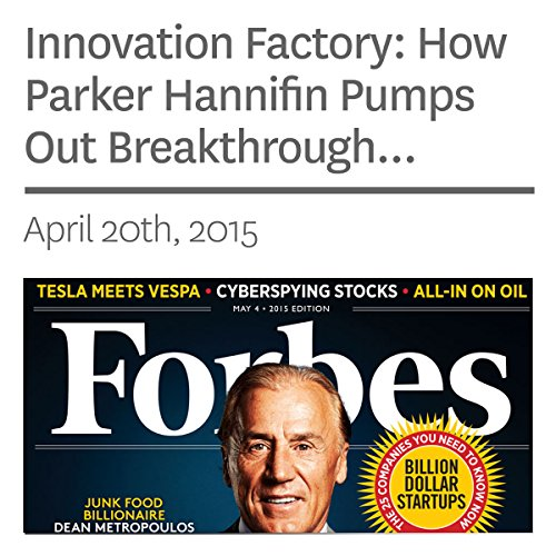 Innovation Factory: How Parker Hannifin Pumps Out Breakthrough Products audiobook cover art