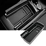 SKTU Boîte à gants pour P eugeot 3008 GT SUV 2016-2020 avec accoudoir de rangement multifonction pour console centrale, boîte de rangement (Peugeot 3008 GT)