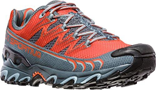 La Sportiva Ultra Raptor, Zapatillas de Trail Running para Hombre, Multicolor (Tangerine/Slate 000), 44 EU