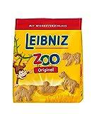 Leibniz ZOO, 12er Pack — Mini-Butterkekse in der Großpackung —Butter-Gebäck für Kinder — Kinderkekse in der Vorrats-Box (12 x 125 g)