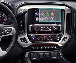 "Protec Screen Protector Accessory That fits Chevrolet/Cadillac/GMC/Buick 8.0"" Standard Clear [Fits Most Malibu-Impala-Volt-Camaro-Equinox-Tahoe-Colorado-Sierra/Silverado]"