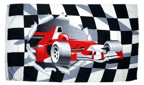Fahne/Flagge Formel 1 Start Ziel NEU 90 x 150 cm