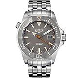 Davosa Reloj de buceo automático suizo – Reloj de pulsera analógico de lujo argonáutico resistente al agua para hombres con elegante pulsera