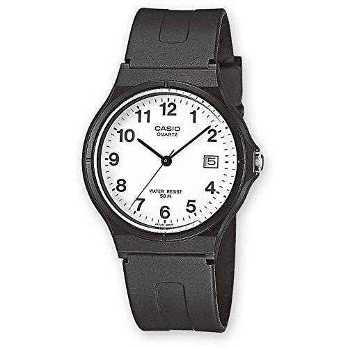Casio Classic MW-59-7BVDF, Reloj Analógico de Cuarzo con Calendario y Correa de Resina para Hombre, Negro