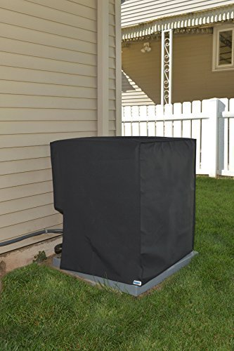 Comp Bind Technology Waterproof Cover for Air Conditioning System Unit Lennox Merit Model 14ACX-036 Outdoor Black Nylon Cover Dimensions 28.5''W x 28.5''D x 37.5''H