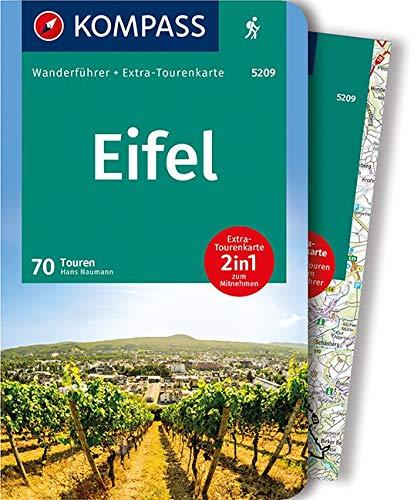 KOMPASS Wanderführer Eifel: Wanderführer mit Extra-Tourenkarte 1:100.000, 70 Touren, GPX-Daten zum Download.