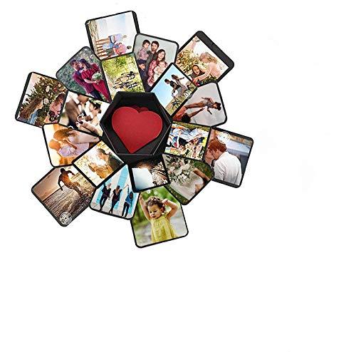 Geschenk-Box Kreative Überraschung Explosion Box Geschenk Überraschung Scrapbook Fotoalbum Valentinstag Jahrestag Geschenkbox