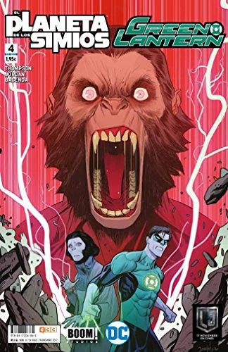 Green Lantern/El Planeta de los Simios núm. 04 (de 6): Planeta de los Simios/Green Lantern 4