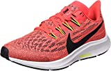 Nike Air Zoom Pegasus 36 (GS), Zapatillas para Correr, Laser Crimson Black BRT Cactus White, 33 EU