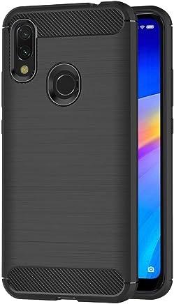 AICEK Funda Xiaomi Redmi 7 / Xiaomi Redmi Y3, Negro Silicona Fundas para Xiaomi Redmi 7 Carcasa Xiaomi Redmi Y3 Fibra de Carbono Funda Case (6,26 Pulgadas)