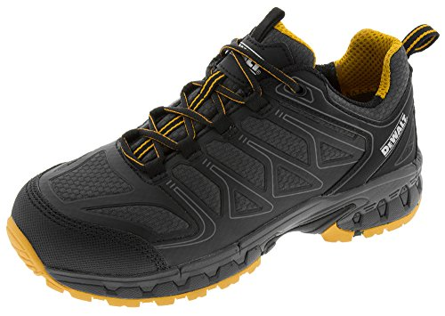 Dewalt Men's Boron Aluminum Toe Work Shoe (9.5 D(M) US, Black/Yellow)
