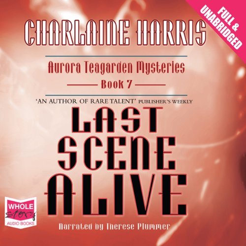 Last Scene Alive audiobook cover art
