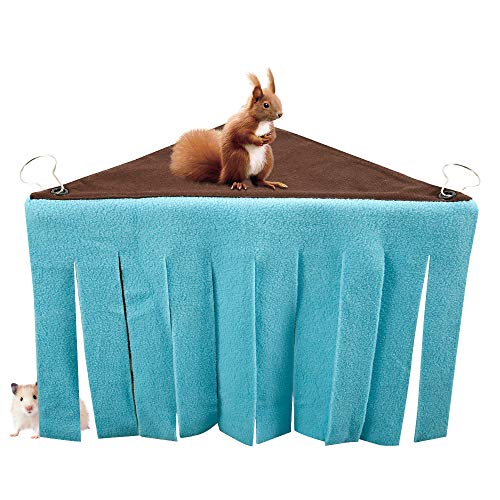 Lovestory huisdier tent kleine dier hamster hoek schuilplaats schuilplaats huisdier Shelter met doek kwastjes gordijn voor Cuinea varken Ferret Dwerg Hedgehog Chinchillas