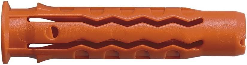 Mungo 1050120 MQ Quattro Cheville nylon Orange 12x60 mm 25 Unit/é