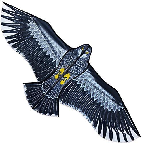 Drachen flugdrachen für Kinder und Erwachsene, Kites Großer Adler Drachen Flugdrachen Kinderdrachen Flug-Drachen Gartenvogel Drachen Eule Für Kinder & Erwachsene - Riesiger Spannweite, Lenkdrachen